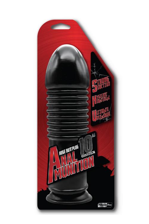 Anal Munition Huge Butt Plug