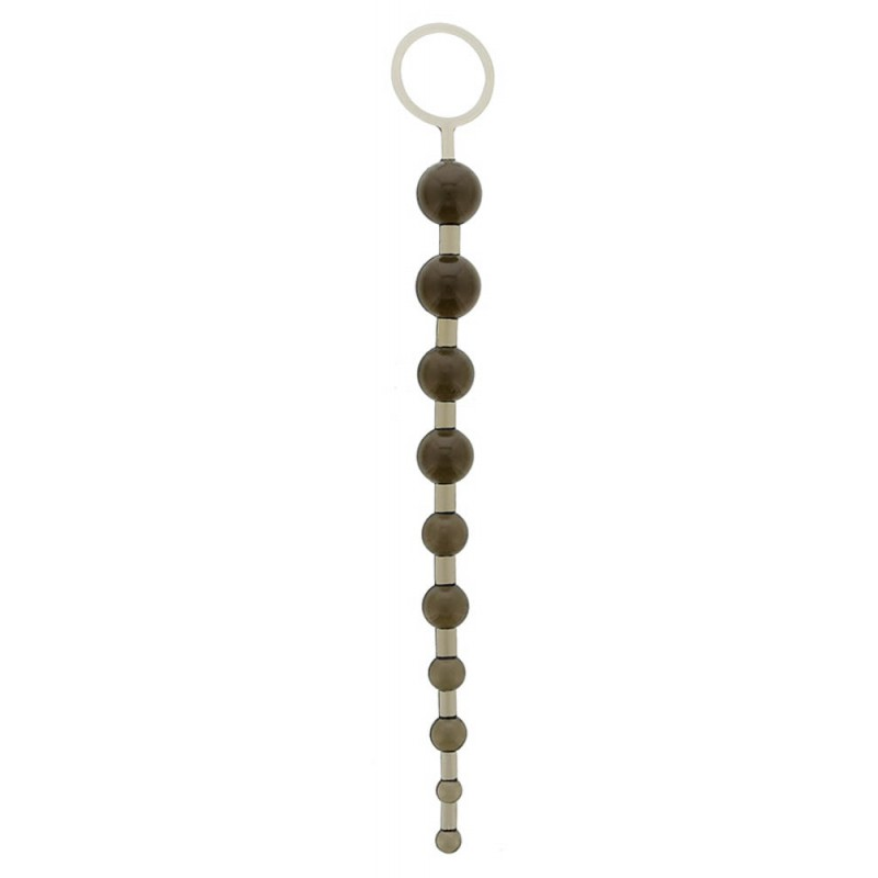 Oriental Jelly Butt Beads 10.5 Black