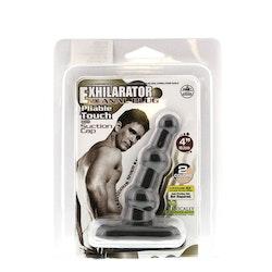Exhilarator Anal Plug - Black