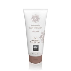Shiatsu Massage & Glid Gel 2in1 - Silky Touch