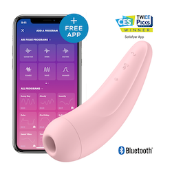 Satisfyer Curvy 2+ Pink