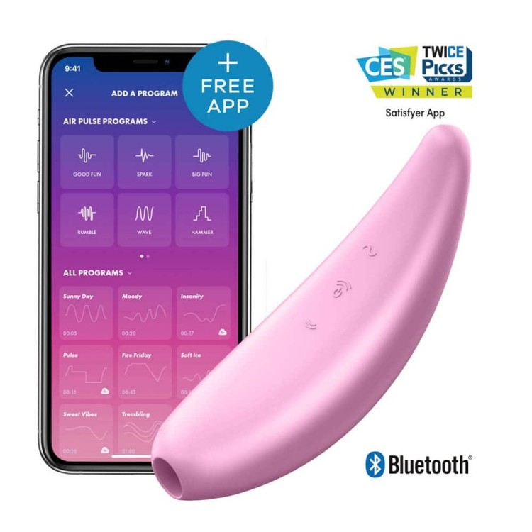 Satisfyer Curvy 3+ Pink