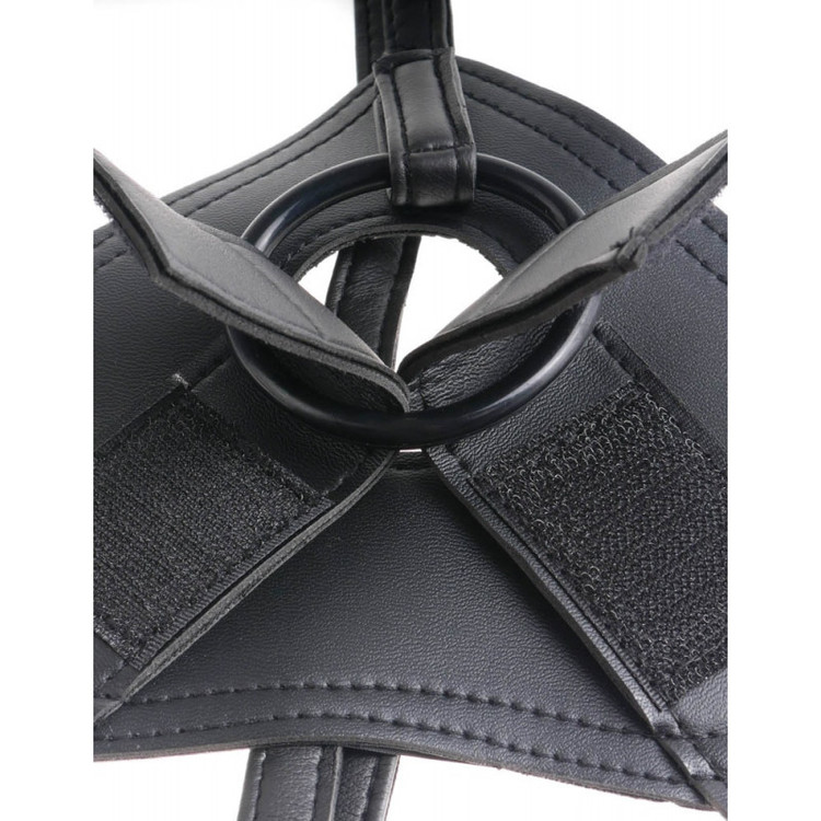 King Cock Strap-On Harness /w 7 Inch Cock