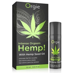 Orgie Intense Orgasm Hemp!