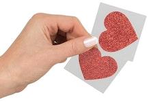 Nipple Sticker - Hjärta