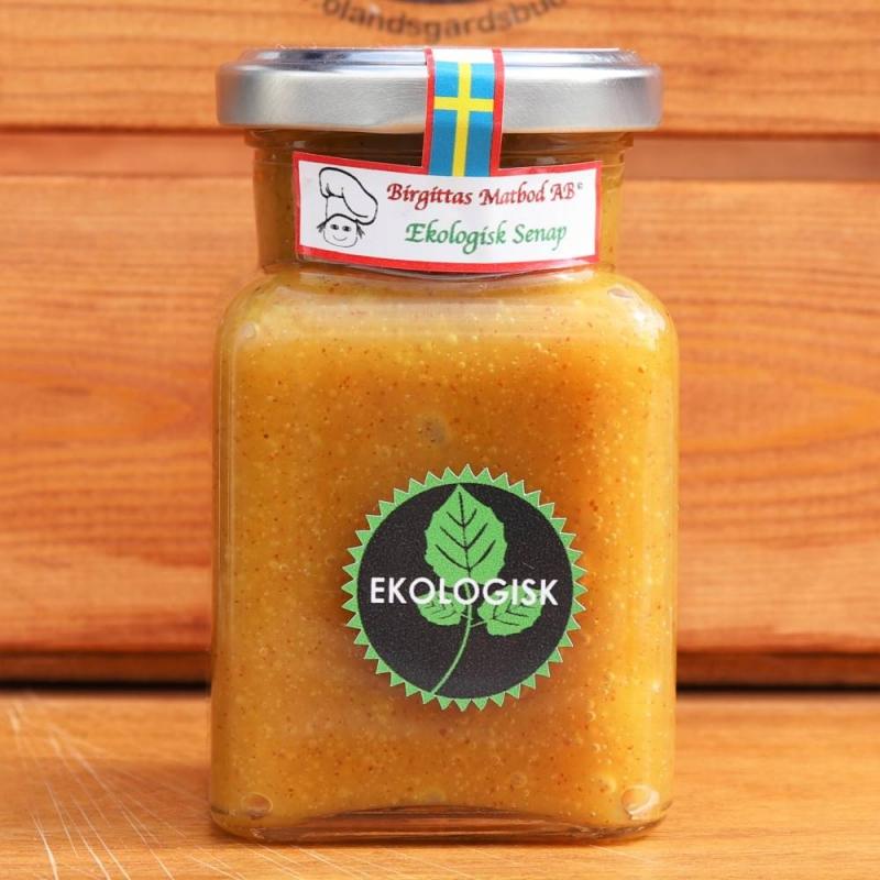 Salsasås med mango och sötstark senap