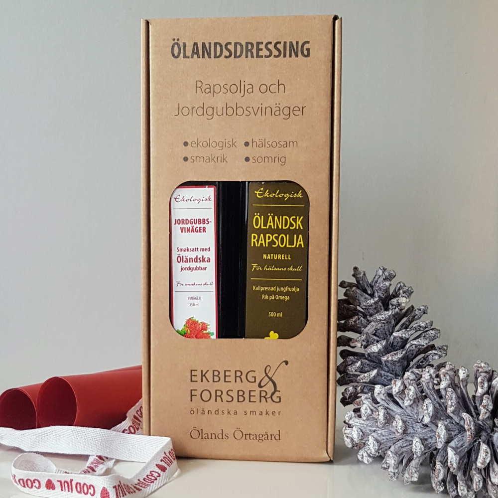 Rapsolja & Jordgubbsvinäger Presentförpackning