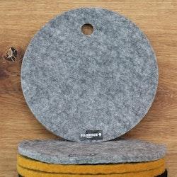 Grytunderlägg av svensk filtad ull
