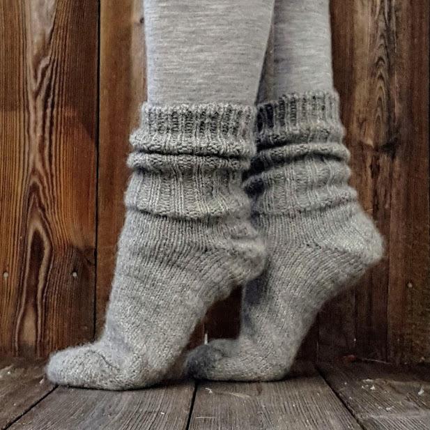 Raggsockor, svensk ull