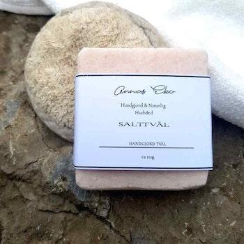 Handgjord tvål - Rosa Salttvål