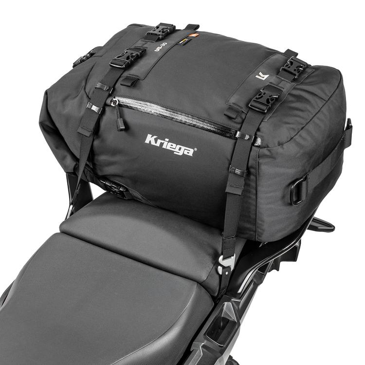 Kriega US-30 Drypack, mc-väska, 21-30L