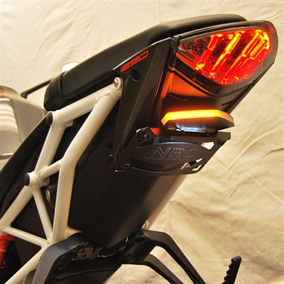New Rage Cycles, Tailtidy med blinkers & skyltbelysning, KTM SuperDuke 1290