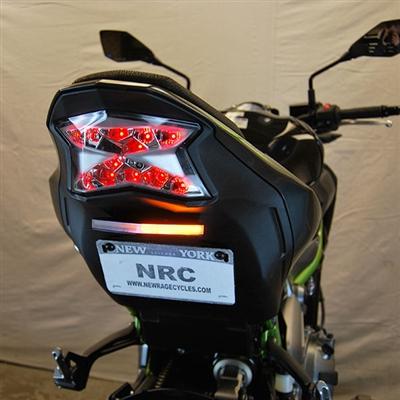 New Rage Cycles, Tailtidy med blinkers & skyltbelysning, Kawasaki Z900
