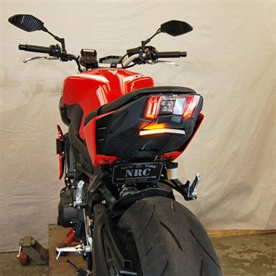 New Rage Cycles Tailtidy med Blinkers & Skyltbelysning, Yamaha MT-09 2017-2020
