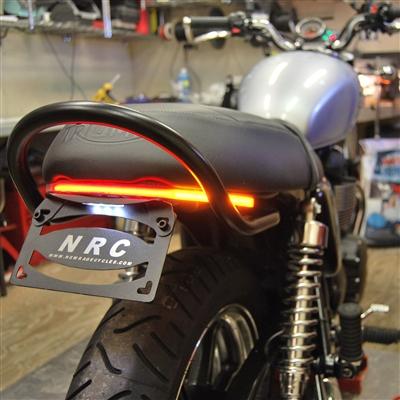 New Rage Cycles Tailtidy/Blinkers/Bromsljus, Triumph Scrambler