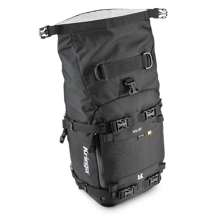 Kriega US-20 Drypack, mc-väska, 11-20L