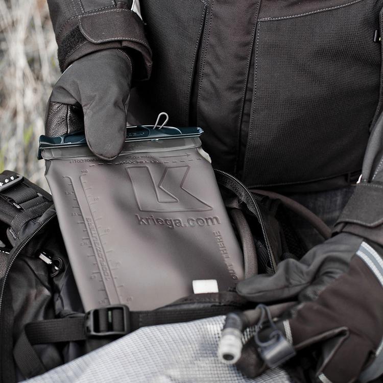 Kriega R15, Mc-ryggsäck, 15L