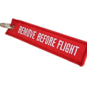 Nyckelring Remove before flight