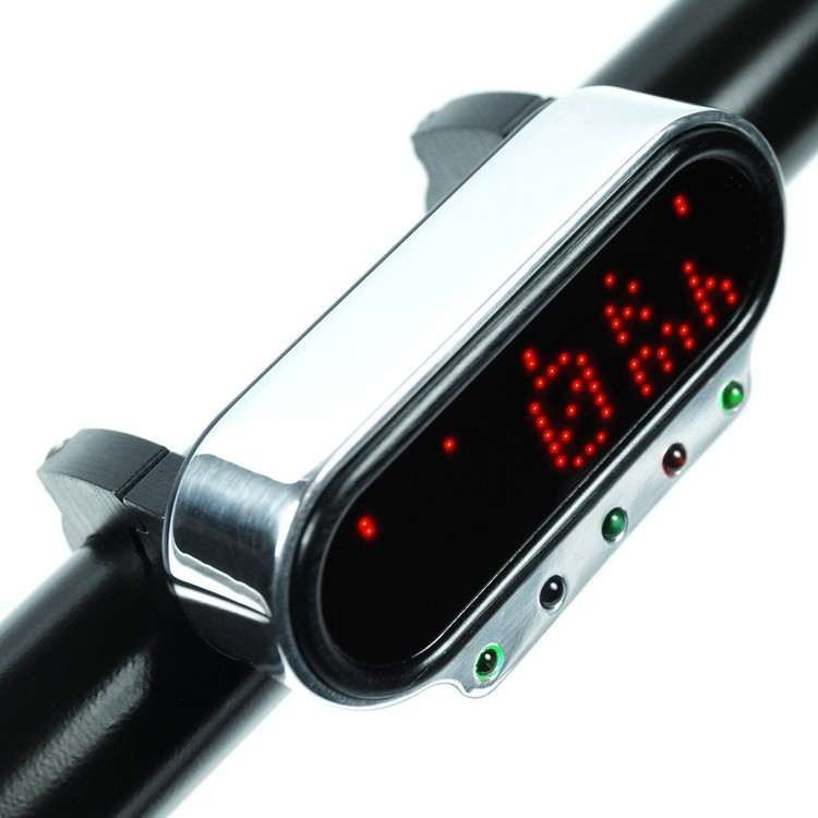 Motogadget msm combi frame with indicator lights, Mini Hastighetsmätare