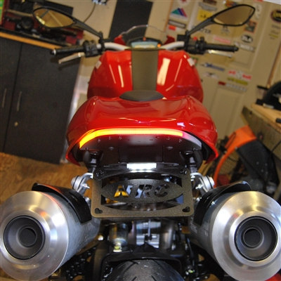 New Rage Cycles, Tailtidy med bromsljus & blinkers, Ducati Monster 1100