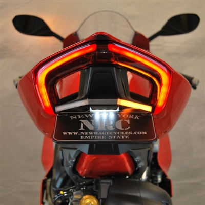 New Rage Cycles, Tailtidy med blinkers, Ducati Panigale V4