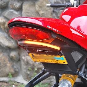 New Rage Cycles, skreddersydd med blink, Ducati Monster 1200R