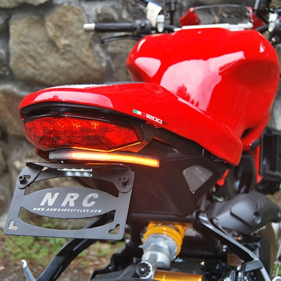 New Rage Cycles, Tailtidy med blinkers, Ducati Monster 1200R