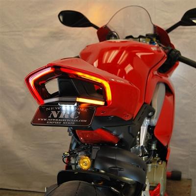 New Rage Cycles, Tailtidy med blinkers, Ducati Panigale V2