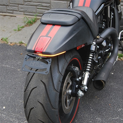 New Rage Cycles, Tailtidy med blinkers & skyltbelysning, Harley Davidson V-ROD (2012-2017)