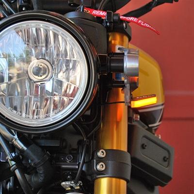 New Rage Cycles, LED-blinkers fram, Yamaha XSR 900