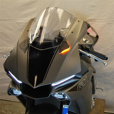 New Rage Cycles, LED-blinkers fram, Yamaha R1