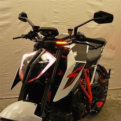 New Rage Cycles, LED-blinkers fram, KTM 1290 Superduke