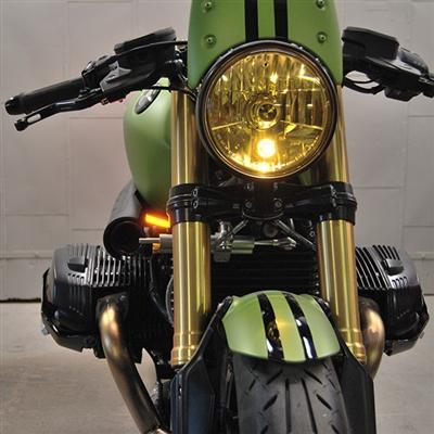 New Rage Cycles, LED-blinkers fram, BMW R NINE T