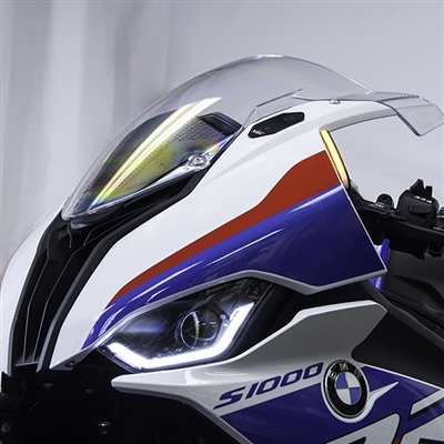 New Rage Cycles, LED-blinkers fram, BMW S1000RR