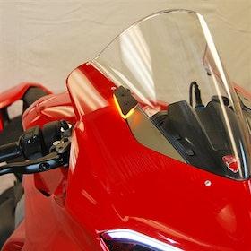 New Rage Cycles, LED-blinkers fram, Ducati Panigale V4