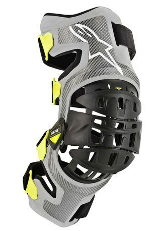 Alpinestars Bionic 7 knästöd par, Knäskydd för enduro