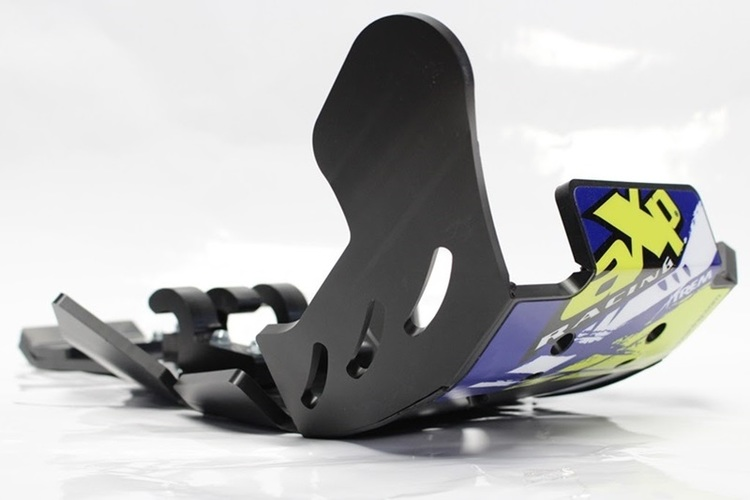 AXP Xtrem HDPE Skid Plate Black Sherco SEFR250-SEFR300 12-18