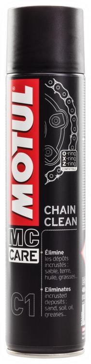 Motul Chain Clean C1 400 ml, Kedjerengöring för MC