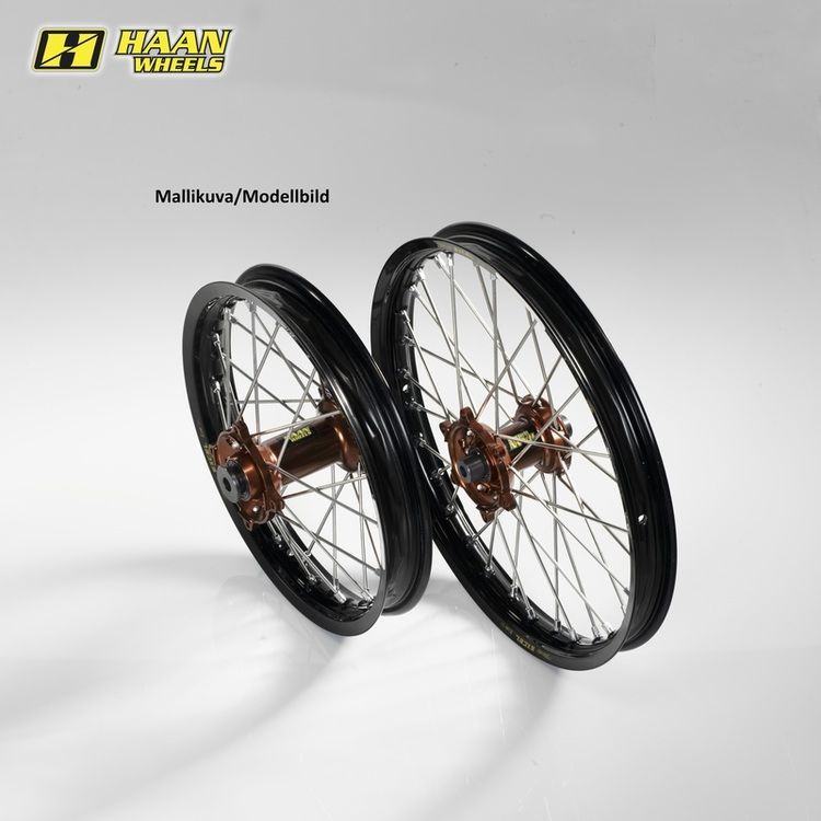 Haan komplett hjulsats, KTM, Husqvarna, GASGAS TC/FC 15 21-1,60 M/B
