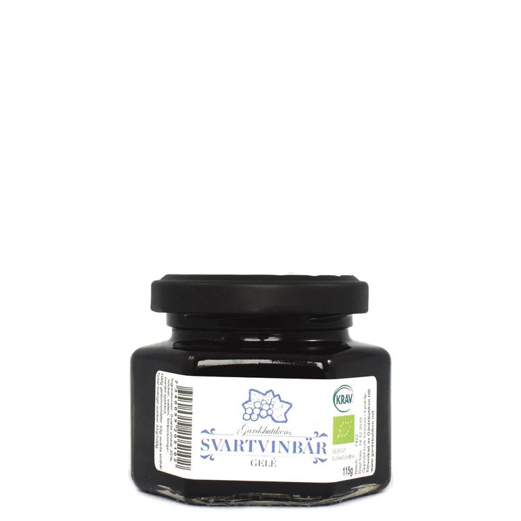 Ekologisk svartvinbärsgelé 115g