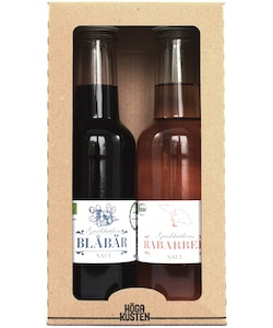 2-Pack Rabarber/Blåbärssaft 200ml