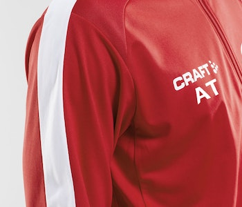 Craft PROGRESS Halfzip LS TEE M - HERR