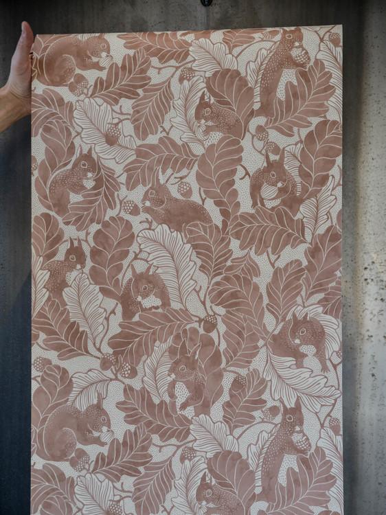 Oak tree tails - powder tan