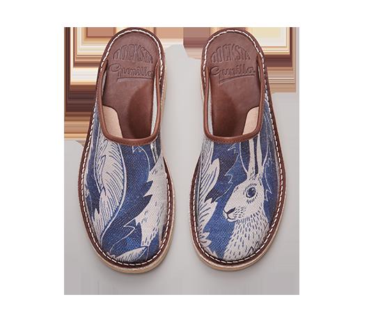 Hares in hiding sko