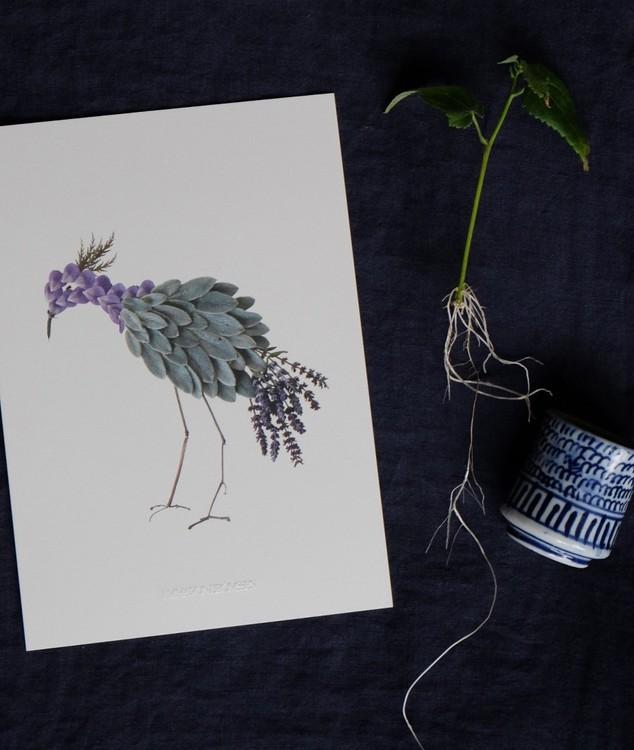 A5 konstkort Vendela
