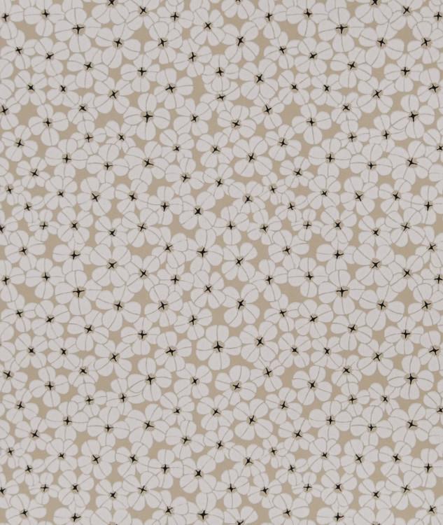 Tapetprov Flower shower Chalk White