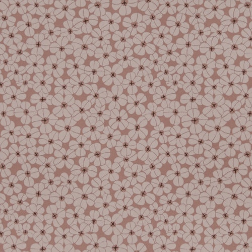 Tapetprov Flower shower Dusty Coral