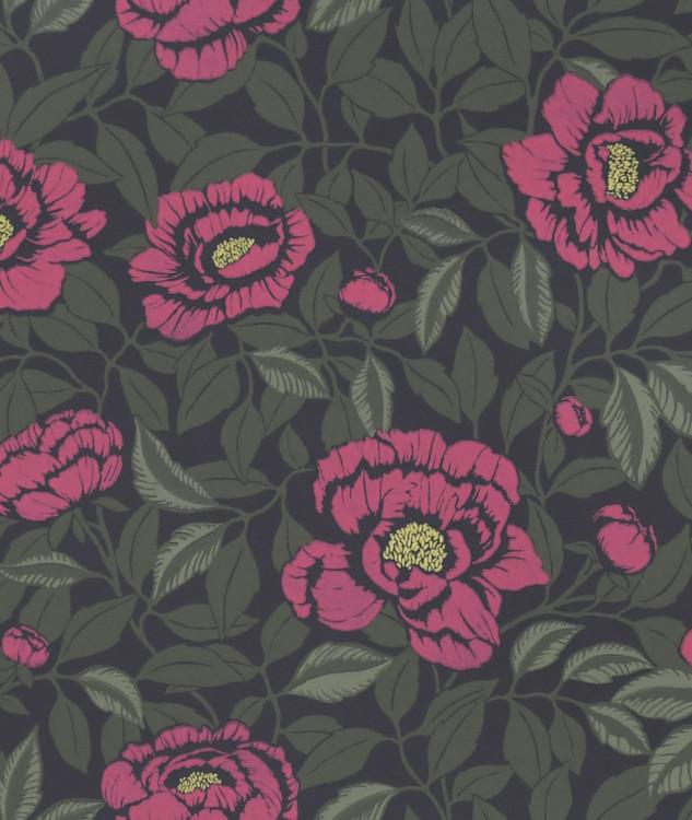 Tapetprov My peony garden Peony Pink