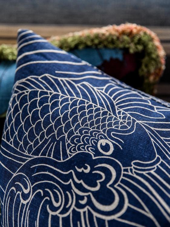Kudde Plenty more fish Blå