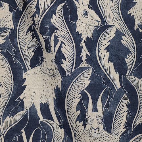 Linnetyg Hares in hiding Blå